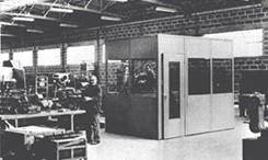 Cabine STIC en 1962