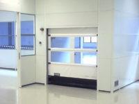 Cloison salle blanche